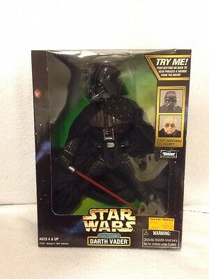 Star Wars Kenner Action Collection Electronic Darth Vader W/ Removable Helmet