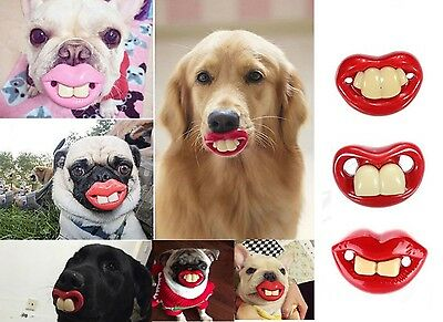 Dogs Funny LOL Teeth Dummy Pets Pacifier Treats Party Toys Fancy Accessories