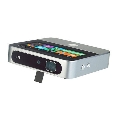 ZTE Spro 2 T-Mobile UNLOCKED GSM 4G LTE Portable HD Smart Projector - Silver