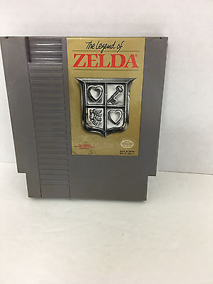 Nintendo NES The Legend of Zelda Video Game Cartridge