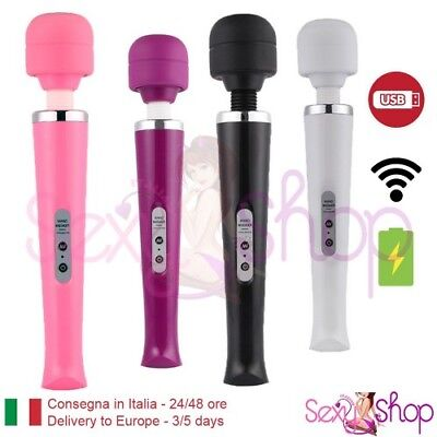 Massaggiatore Magic Wand Vibratore Vaginale senza fili corpo wireless Massaggio