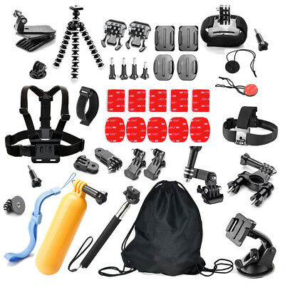 42 in 1 Basic Common Outdoor Sports Kit Accessories for All Gopro Hero New