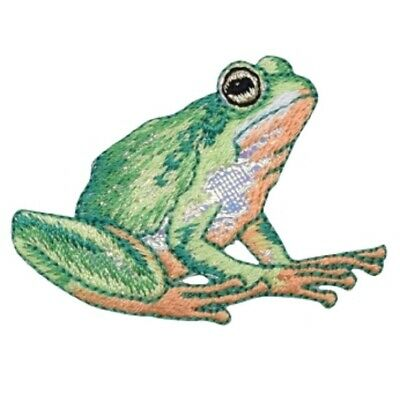 Frog Applique Patch (Iron on)