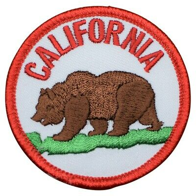 California Bear Patch (Iron on)