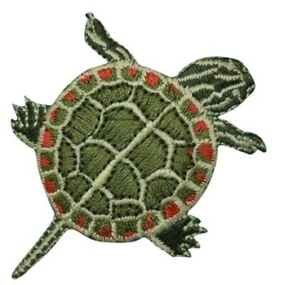 Snapping Turtle Applique Patch (Iron on)