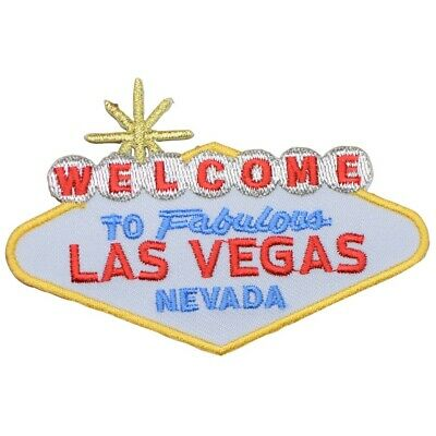 Welcome to Fabulous Las Vegas Patch - Nevada (Iron on)