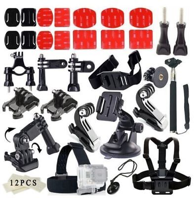 33in1 Mount Kit Chest&Head Strap Accessories Set Kit For GoPro Hero 1 2 3 4 5 6