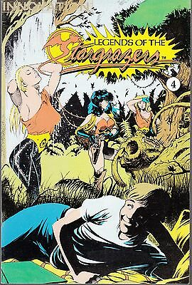 Legends Of The Stargrazers  #4 1990 Nm- Innovation ....wood/ Thompson