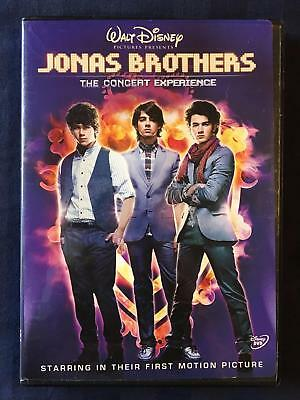 Jonas Brothers - The Concert Experience (DVD, Disney, 2009) - E0909