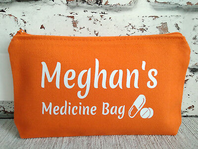 medicine bag personalised with name medical kit first aid rescue case size S