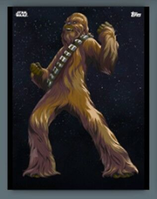 Chewbacca-Galactic Icons Marathon Wave 3-Topps Star Wars Card Trader