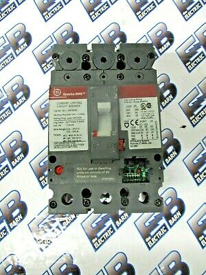 GE SELA36AT0030, 30 Amp MAX, 600 Volt, 3 Pole, Circuit Breaker- WARRANTY