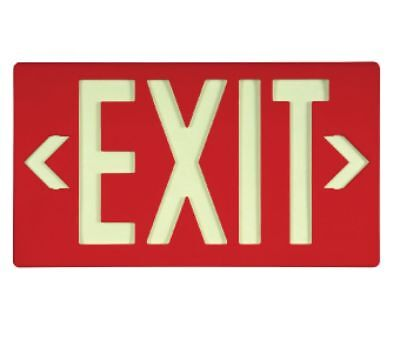 NEW National Marker 7052B RED EXIT SIGN