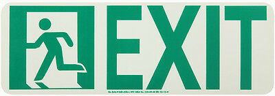 NEW National Marker 50R-2SN-L EXIT SIGN
