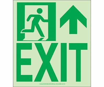 NEW National Marker 50F-6SN-R EXIT SIGN