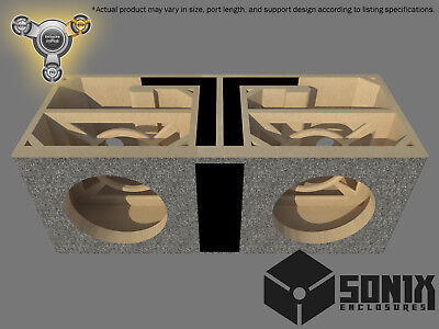 Stage 3 - Dual Ported Subwoofer Mdf Enclosure For Orion Hcca12 Sub Box