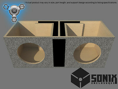 Stage 1 - Dual Ported Subwoofer Mdf Enclosure For Mtx 5510 Sub Box