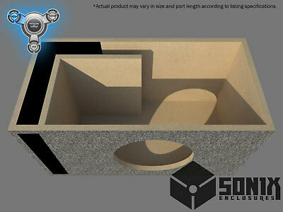 Stage 1 - Ported Subwoofer Mdf Enclosure For Orion Hcca10 Sub Box