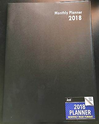 2018 Weekly Monthly Dated Planner Calendar Yearly Agenda Appointment 8x10
