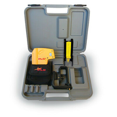 Pacific Laser Systems PLS-60541 Self-Leveling 5 Beam Plumb and Level Point-to-Po