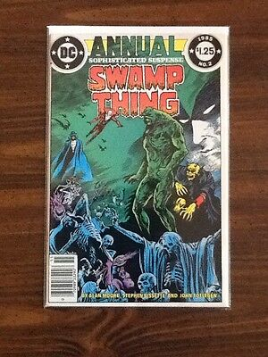 Swamp Thing Annual #2 VF (1st Appearance Justice League Dark).