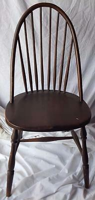 Antique Side Chair - Bow Back Side Chair -  WONDERFUL PATINA - GOOD CONDITION