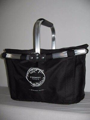 Large Black Collapsible Insulated Drinks Carrier Fermoy Estate Margaret River