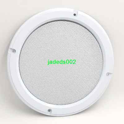 1pcs 6.5-inch Speaker grille decorative circle Ceiling Speaker Gold/Silver/white