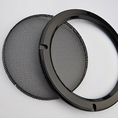 1pcs 1# 2/4/5/6.5/8/10 inch Black light Speaker grille Car Subwoofer Masks cover