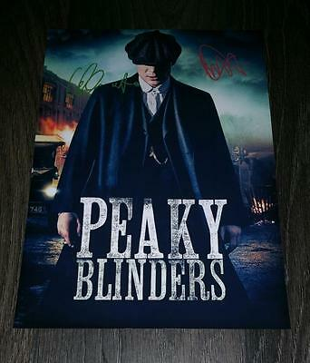 """Peaky Blinders Pp Signed 12X8"""" A4 Photo Poster Cillian Murphy Paul Anderson S2"""