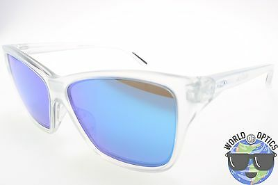 Oakley Women's Sunglasses OO9298-09 HOLD ON Matte Clear w/ Sapphire Iridium Lens