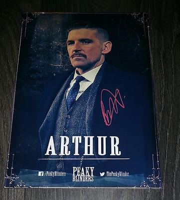 """Peaky Blinders Pp Signed 12X8"""" A4 Photo Poster Paul Anderson Arthur Shelby N3"""
