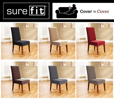Surefit Pearson Stretch Dining Chair Covers ~ Choose From 6 Colours ~ Free Post!