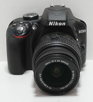 Nikon D3300 24.2 MP with 18-55mm VR Zoom Lens READ LISTING