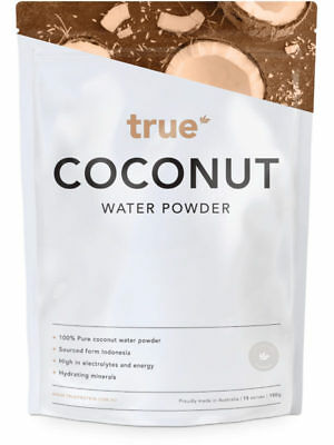 COCONUT WATER POWDER100g Superfood Electrolytes Pure Hydration  True Protein