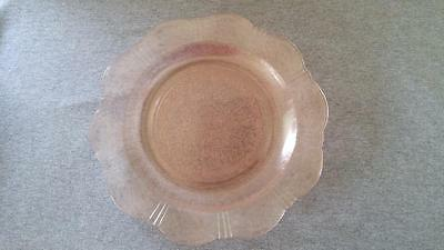 "9-3/4"" Dinner Plates MacBeth Evans AMERICAN SWEETHEART Pink Depression Glass"