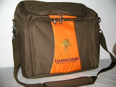 Leaping Lizard Winery West Australia Picnic Carry Bag Cooler Section For Wine