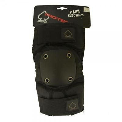 Protec Park Elbow Pads in Army Green, Black, Green