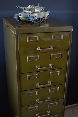 Vintage Military Filing Drawers