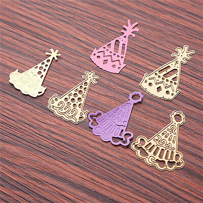 3stk Hat Cutting Dies Metal Stencil Scrapbooking Paper Card Embossing Crafts DIY