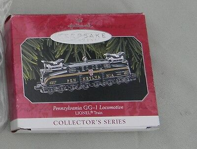 1998 Hallmark Keepsake Pennsylvania GG-1 Locomotive Ornament Lionel Train NIB