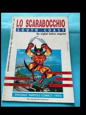 LO SCARABOCCHIO SOUTH COAST (speciale NAPOLI COMICS 1993)