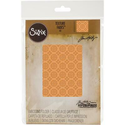 Tim Holtz Texture Fades Embossing Folder by Sizzix - Rosettes