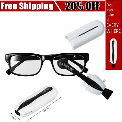 New Peeps Best Eyeglass Sunglass All In One Glasses Cleaner From Lenspen White S