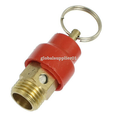 "Pneumatic Compressor Fitting 1/4"" BSP Male Thread Pressure Relief Valve 10Mpa"