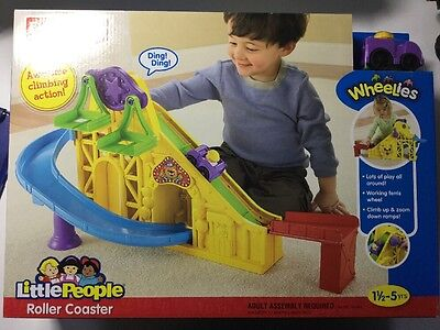 Fisher-Price Little People Roller Coaster