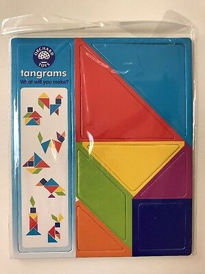 Orchard Toys Tangrams, Shape Toy, Game, Learning Resource, BNIP. Lots Available
