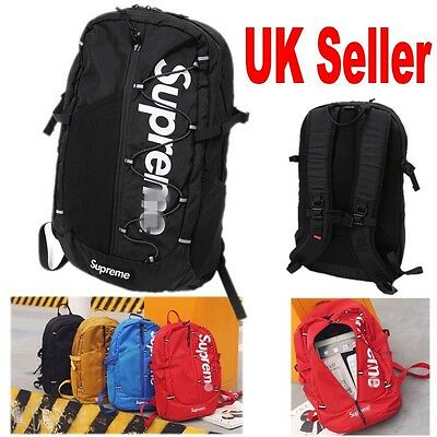 Hot Large Supreme Travel Backpack School Shoulder Bags Waterproof Laptop Unisex