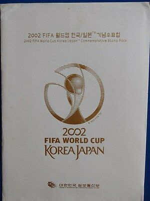 KOREA - FIFA WORLD CUP 2002 - World Stamp Exhibition - Commemorative Stamp Pack