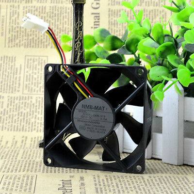 NMB 3110RL-04W-S19 Cooling Fans DC 12V 0.1A 3pin 8025 CPU Cooler Fan 80*80*25mm